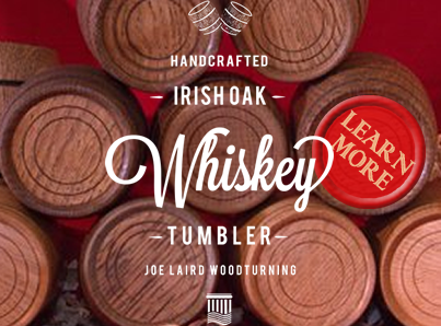 Toasted Irish Oak Whiskey Tumbler
